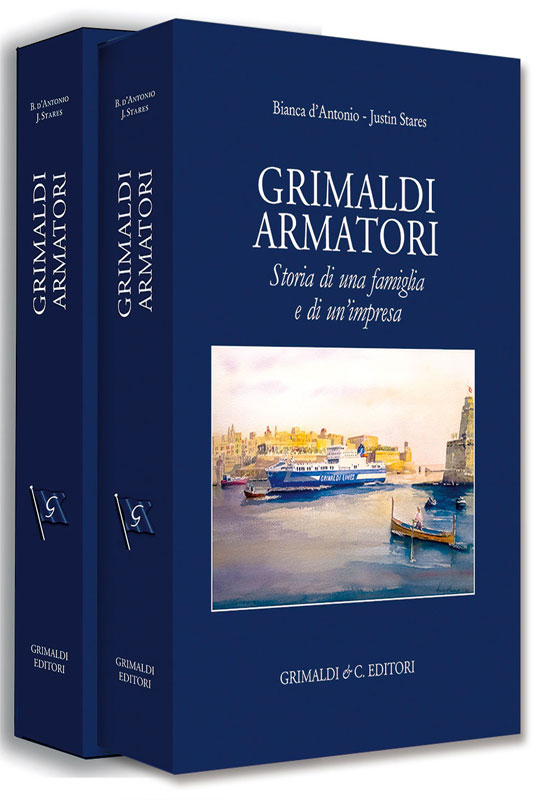 GRIMALDI ARMATORI Storia di una famiglia e di unimpresa napoli libreria libreria bologna nell'antica