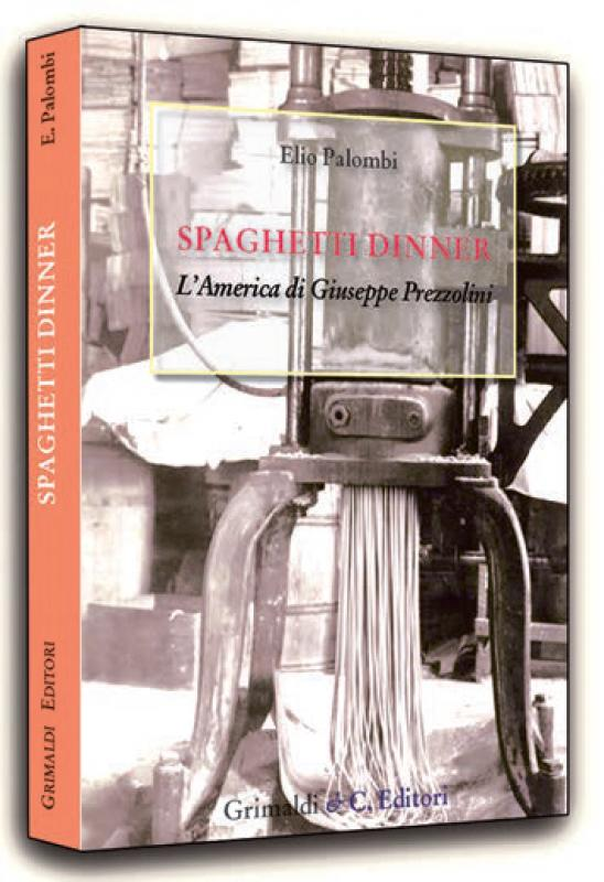 Spaghetti dinner LAmerica di Giuseppe Prezzolini bambini libri antichi antichi adolescenziali