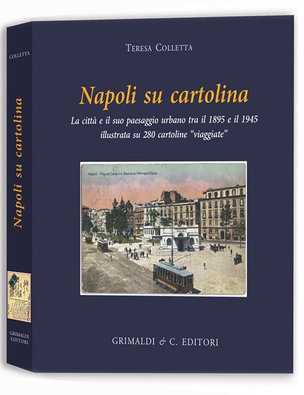 Napoli su Cartolina libreria antiquaria antiquaria libri libreria