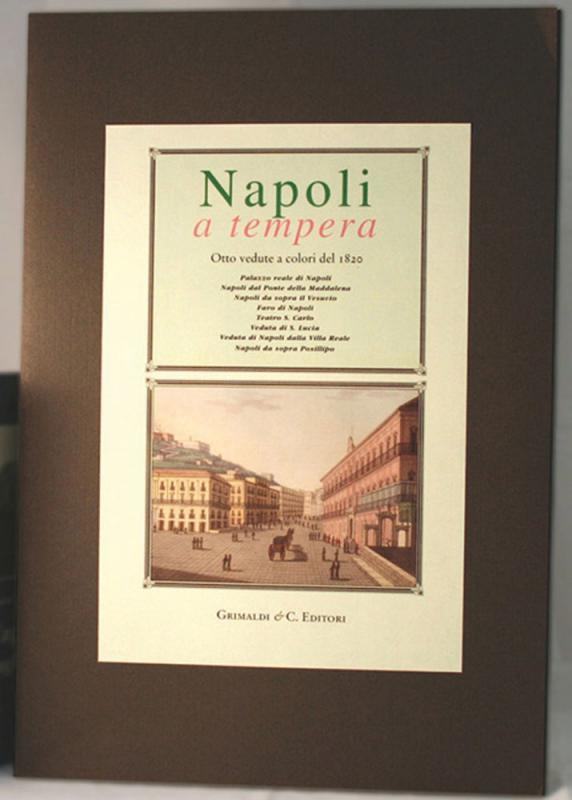 Napoli a tempera