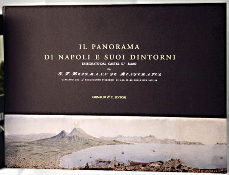 Panorama di Napoli Il e suoi dintorni magia libreria gilibert libri via